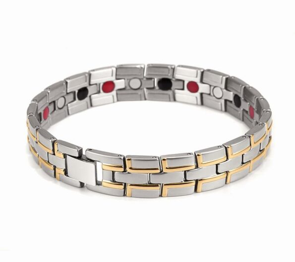 holy-light-silver-titanium-steel-magnetic-therapy-bracelet