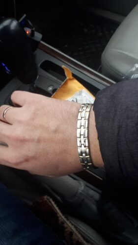 Holy Light Titanium Steel Magnetic Therapeutic Bracelets photo review