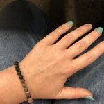 Black Rhodonite Anxiety Bracelet