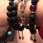 Rainbow Aura Glass Diffuser Anxiety Bracelets