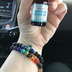 Blue Regalite Anxiety Bracelet